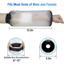 Load image into Gallery viewer, 2020 Newest Waterproof Reusable Bandage Protector Dressing Cover with Watertight Seal for Elbow, Arm for Adult