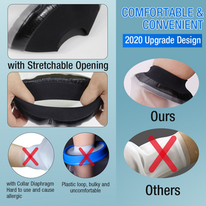 2020 Newest Waterproof Reusable Bandage Protector Dressing Cover with Watertight Seal for Elbow, Arm for Adult