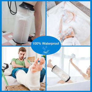 2020 Reusable Bandage Knee Wound Protector Waterproof Knee Cast Cover for Shower Bath