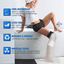 Load image into Gallery viewer, ARRIS Adult Reusable Waterproof Long Leg Wound Protector Cast Cover for Shower