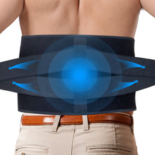 Load image into Gallery viewer, Ice Pack for Lower Back Pain Relief - Hot Cold Back Brace - for Lumbar, Waist, Abdomen, Hip Back Injuries