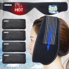 Load image into Gallery viewer, Hot Cold Therapy Wrap with Reusable Gel Pack for Pain Relief of Mouth, Wisdom Teeth, Dental Implant, Sports Injury