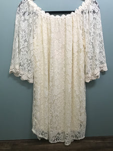 Umgee Ivory Lace Dress