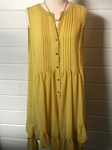 Kiwi Chiffon Dress