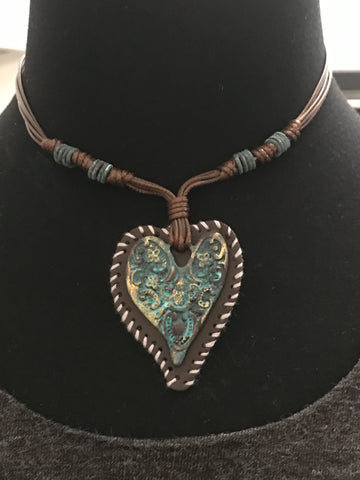 Adjustable Heart Necklace