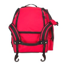 "Load image into Gallery viewer, Customized GRIT Baseball Duffle/Back Pack 27"" Red - BD01"