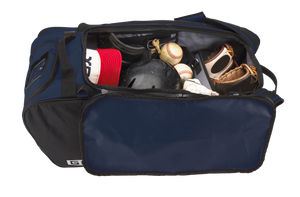 "Customized GRIT Baseball Duffle/Back Pack 27"" Navy - BD01"