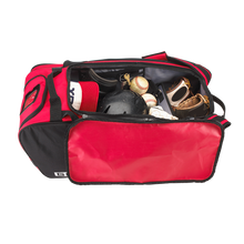 "Load image into Gallery viewer, Undecorated GRIT Baseball Duffle/Back Pack 27"" Red - BD01"