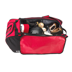 "Undecorated GRIT Baseball Duffle/Back Pack 27"" Red - BD01"