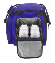 "Load image into Gallery viewer, Customized GRIT Baseball Duffle/Back Pack 27"" Royal Blue - BD01"