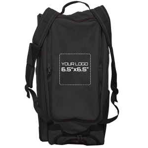 "Customized GRIT Baseball Duffle/Back Pack 27"" Black - BD01"