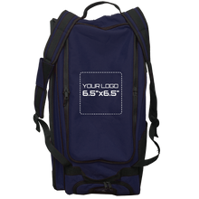 "Load image into Gallery viewer, Customized GRIT Baseball Duffle/Back Pack 27"" Navy - BD01"