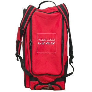 "Customized GRIT Baseball Duffle/Back Pack 27"" Red - BD01"