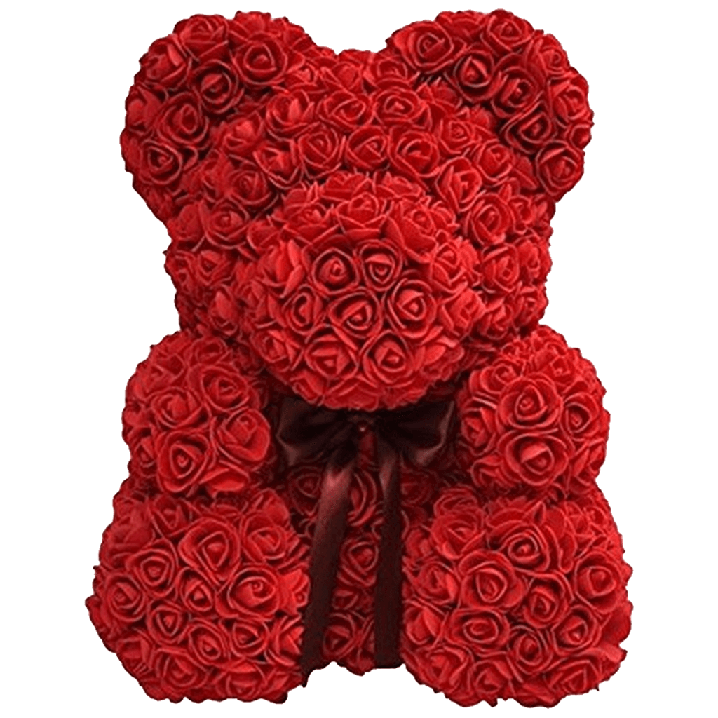 Gifts For Her - Love Heart Rose Bear - Trend Deals