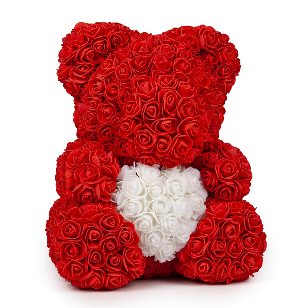 Love Heart Rose Bear - Trend Deals