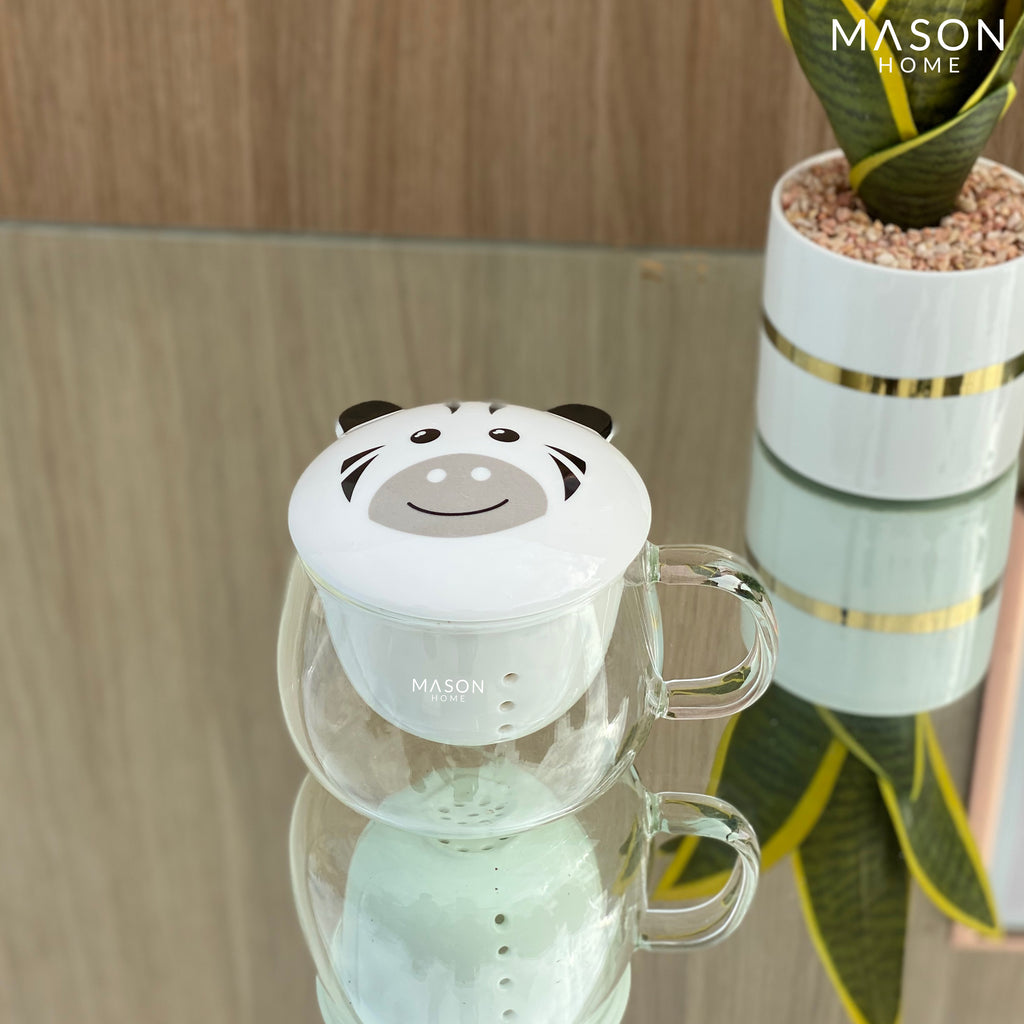 GREEN TEA INFUSER MUGS - Mason Home by Amarsons - Lifestyle & Decor