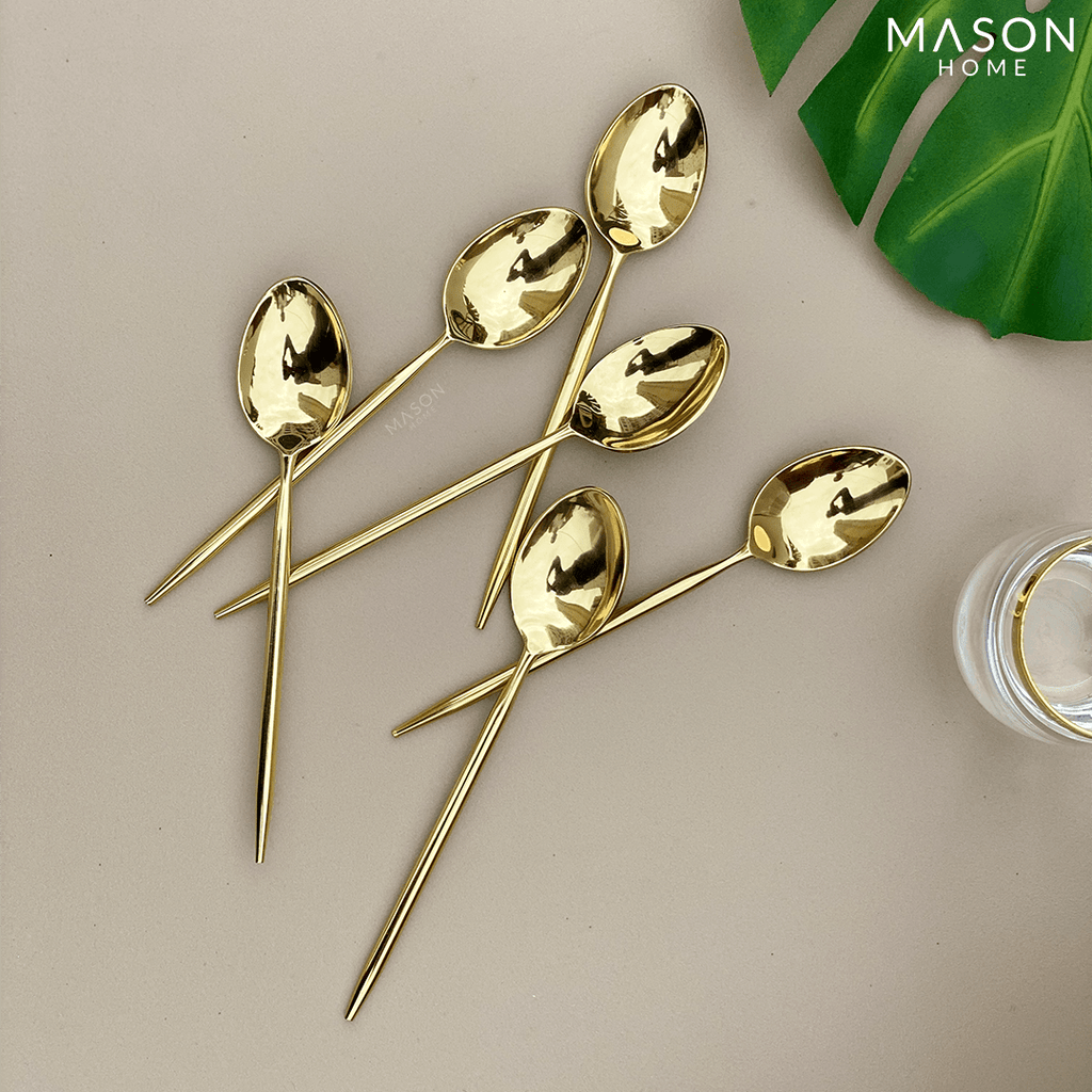 SIGNATURE GOLD TABLE SPOONS - SET OF 6