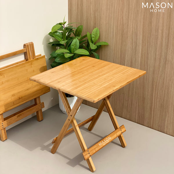 ERZA FOLDING TABLE - SMALL - Mason Home by Amarsons - Lifestyle & Decor