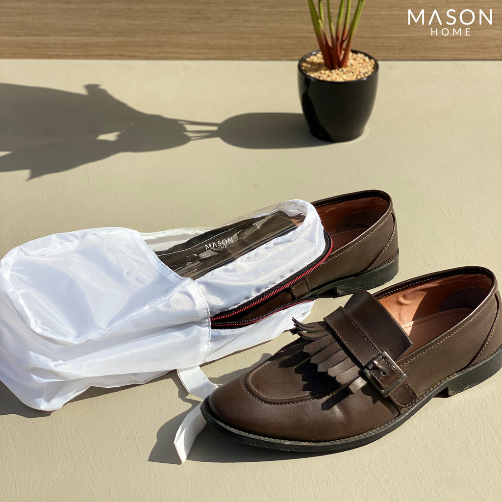 PREMIUM SHOE COVERS - WHITE - Mason Home by Amarsons - Lifestyle & Decor