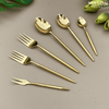 SIGNATURE GOLD DESSERT FORKS - SET OF 6