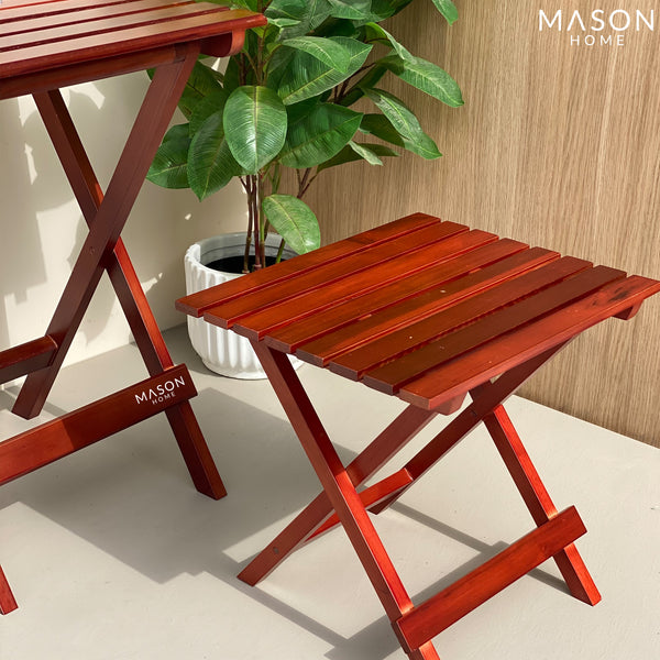 RIAS FOLDING TABLE - MEDIUM - Mason Home by Amarsons - Lifestyle & Decor