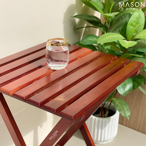 RIAS FOLDING TABLE - LARGE - Mason Home by Amarsons - Lifestyle & Decor