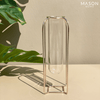 MOROCCO TEST TUBE HOLDERS GOLD - Mason Home by Amarsons - Lifestyle & Decor
