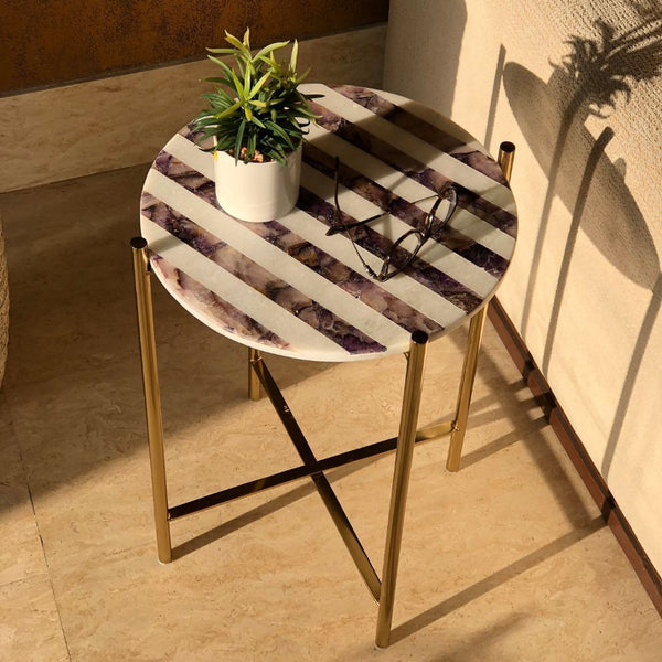 WINDSOR TABLE GOLD - Mason Home by Amarsons - Lifestyle & Decor