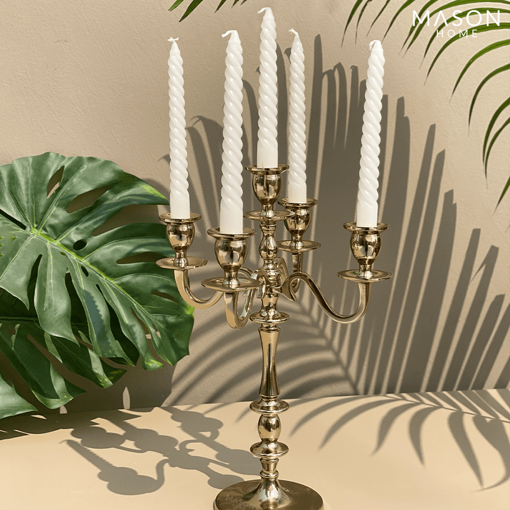 VICTORIAN CANDLE HOLDERS