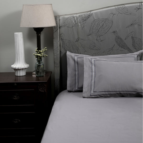 PARALLEL BEDDING SET - MODERN GREY - Mason Home by Amarsons - Lifestyle & Decor