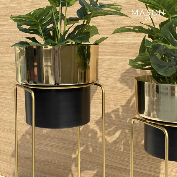 MADISON PLANTER - BLACK