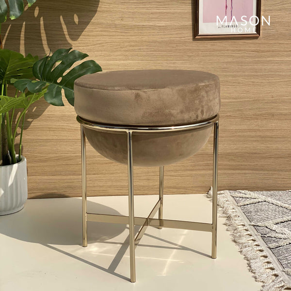 MARAIS POUF - BEIGE - Mason Home by Amarsons - Lifestyle & Decor