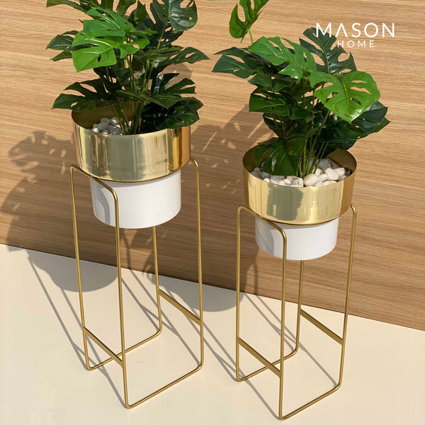 MADISON PLANTER - WHITE