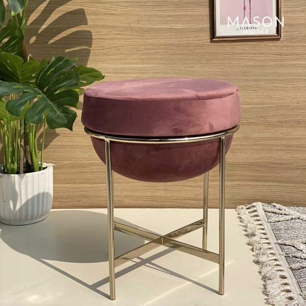 MARAIS POUF - BLUSH PINK - Mason Home by Amarsons - Lifestyle & Decor