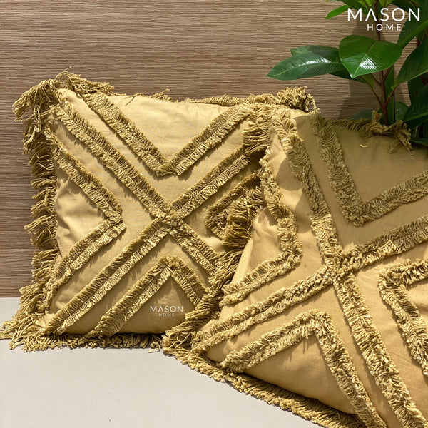 MADISON CUSHION - RUST GOLD - Mason Home by Amarsons - Lifestyle & Decor