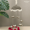 ANTIQUE LOTUS HANGING DIYA - BIG
