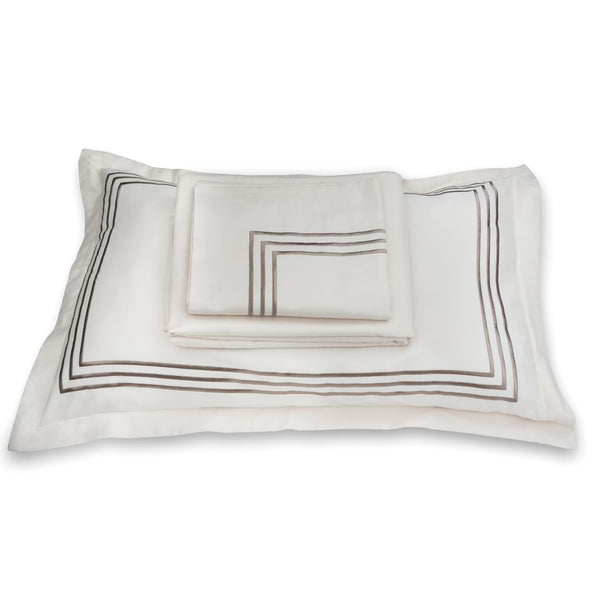 PARALLEL BEDDING SET - CREAM