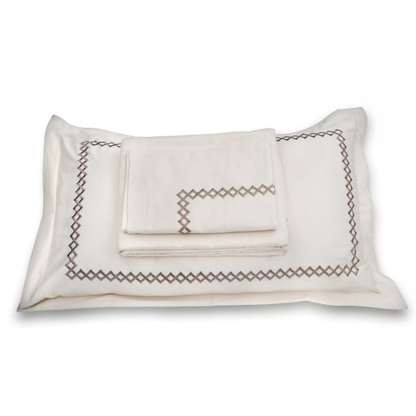 CUBES BEDDING SET - CREAM
