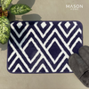 BATH MAT - BLUE DIAMOND