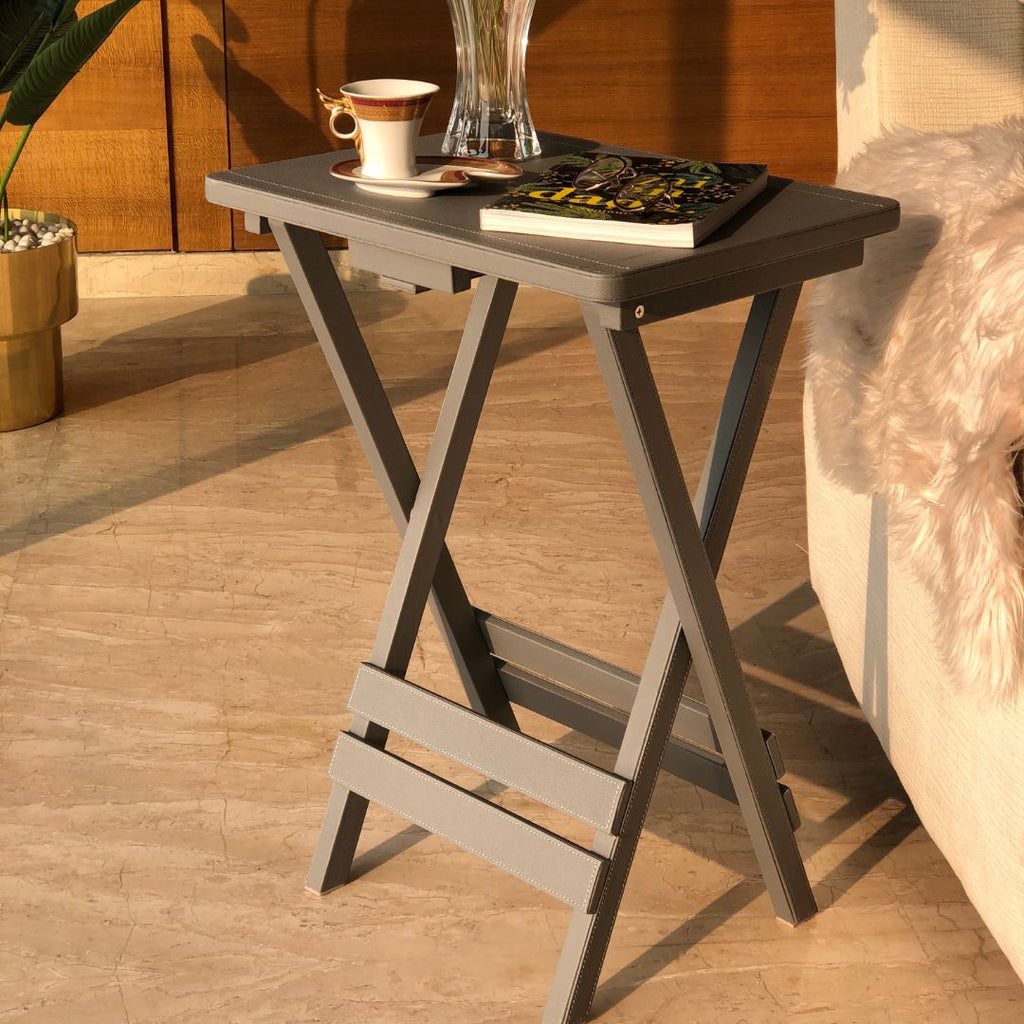 FOLDABLE TABLE - GREY