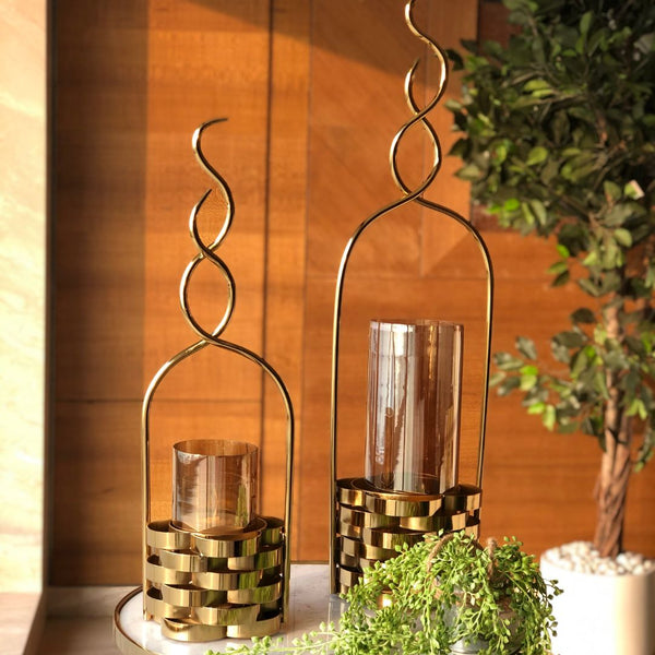 BAHRAIN CANDLE STAND - SMALL - Mason Home by Amarsons - Lifestyle & Decor