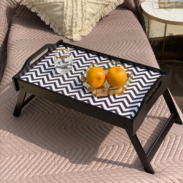 MONOCHROME BED TRAY