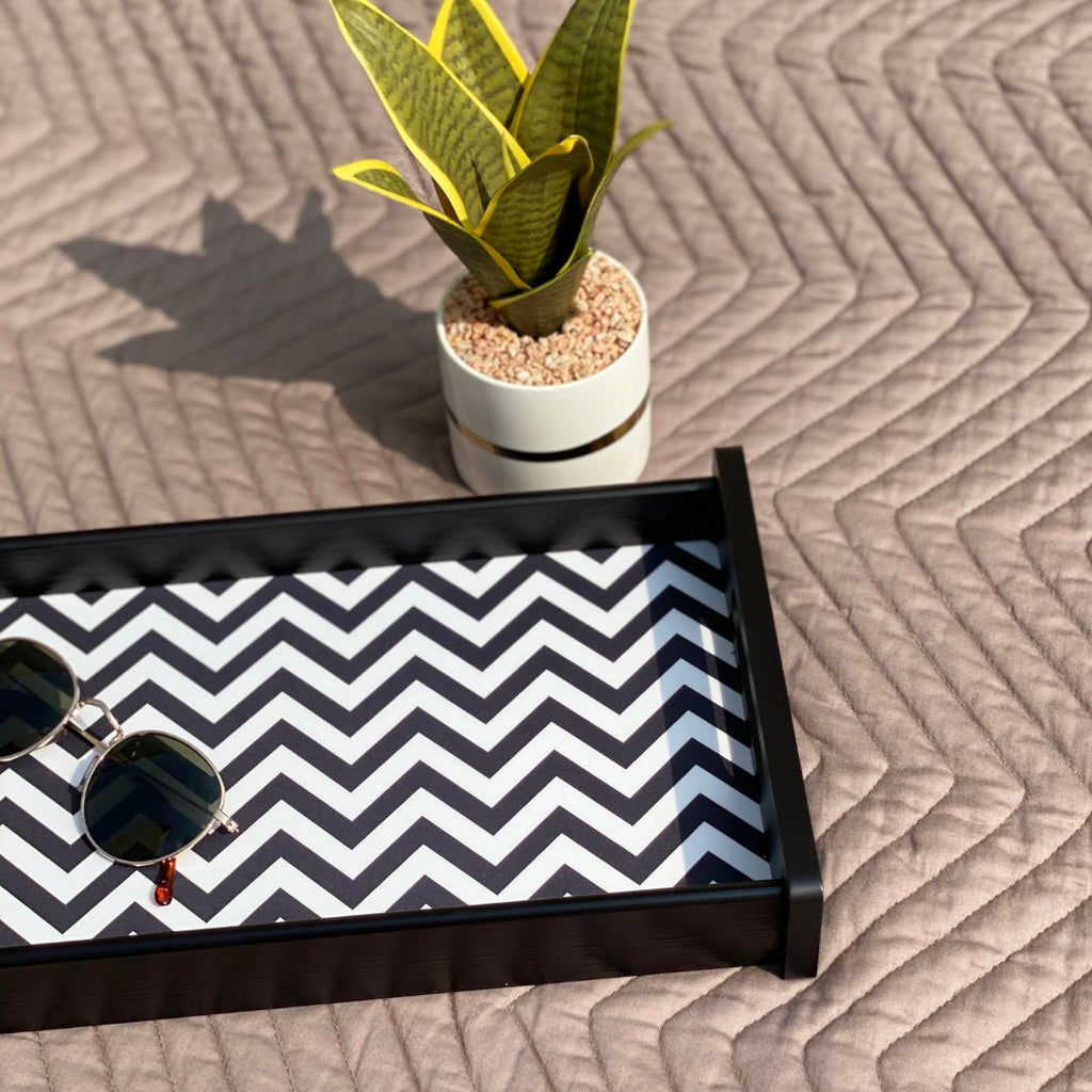 MONOCHROME TRAY - M - Mason Home by Amarsons - Lifestyle & Decor