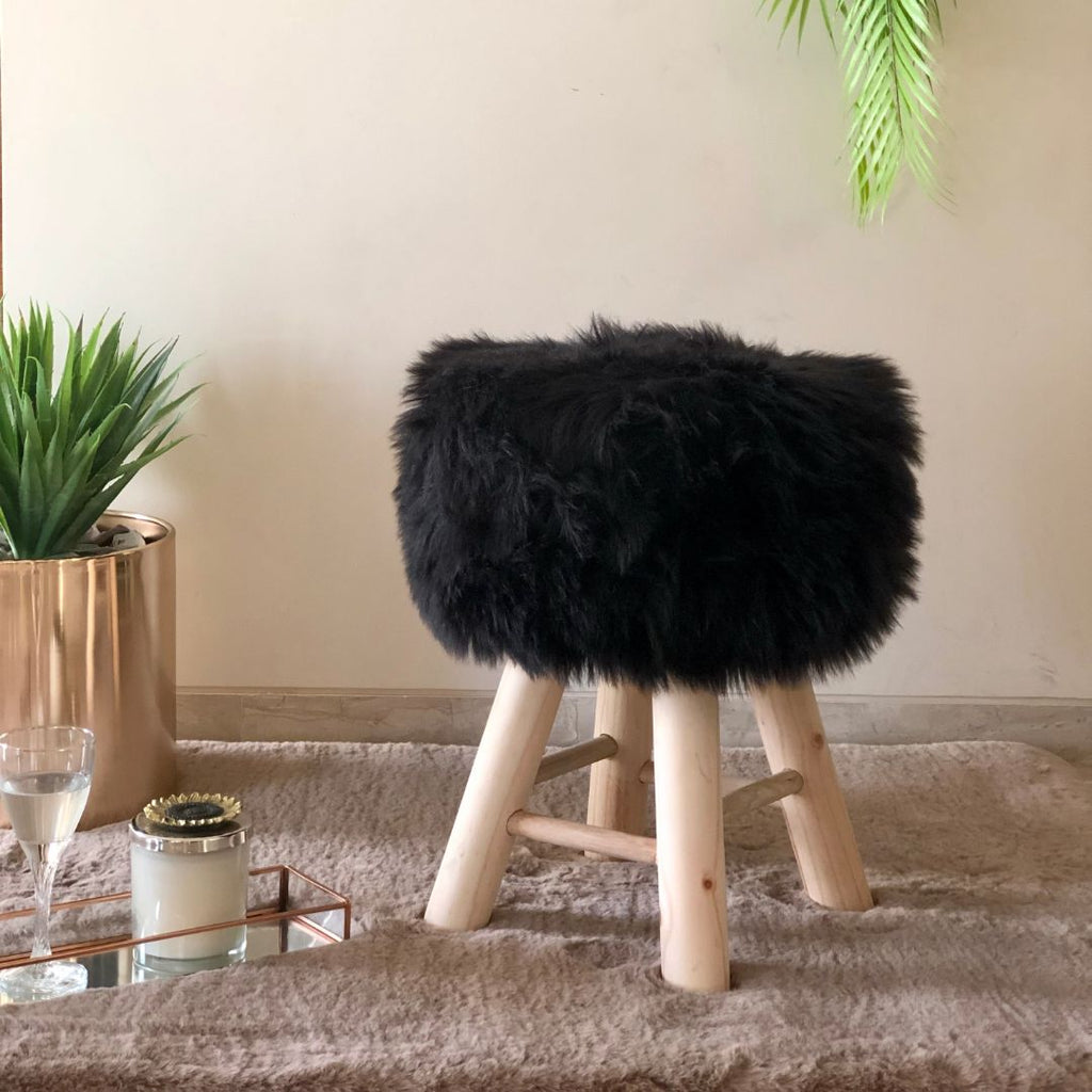 SULLY POUF BLACK