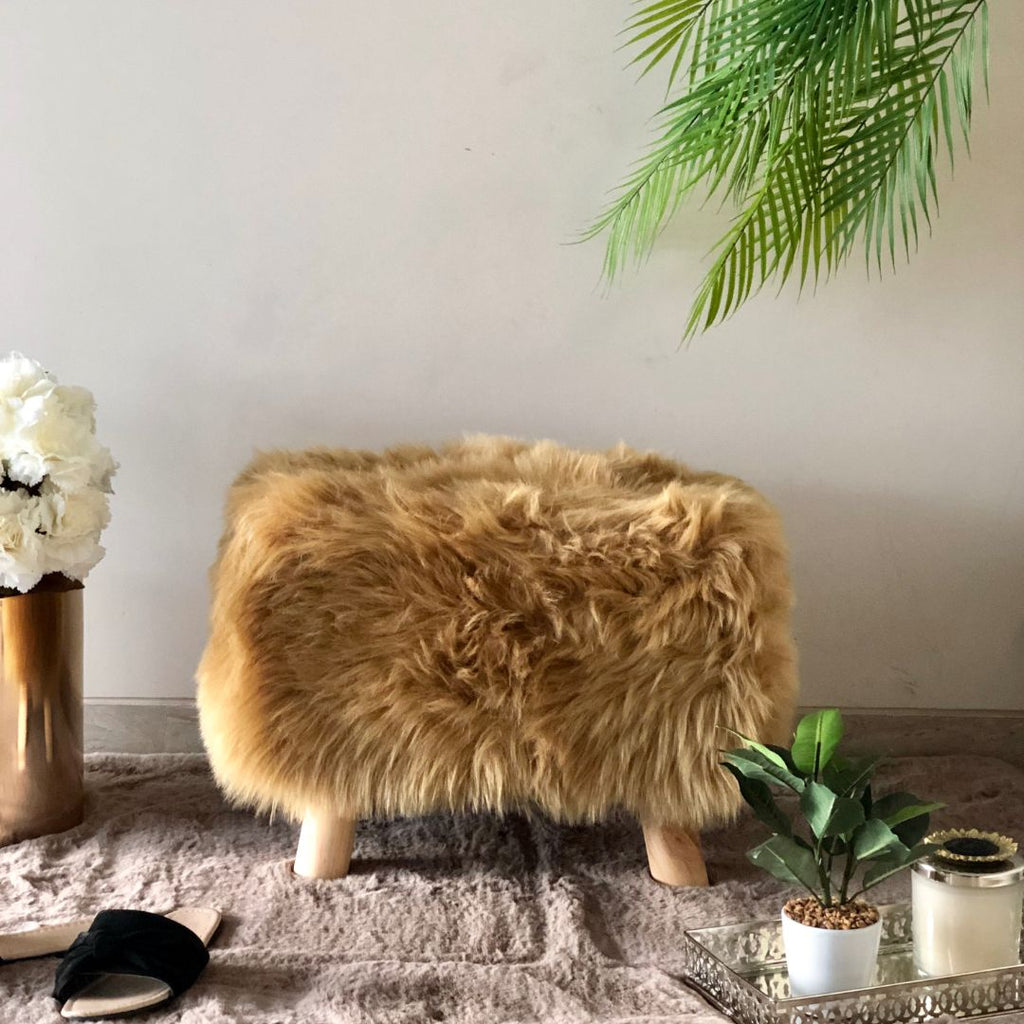 RIVOLI RECTANGLE POUF HAZEL - Mason Home by Amarsons - Lifestyle & Decor