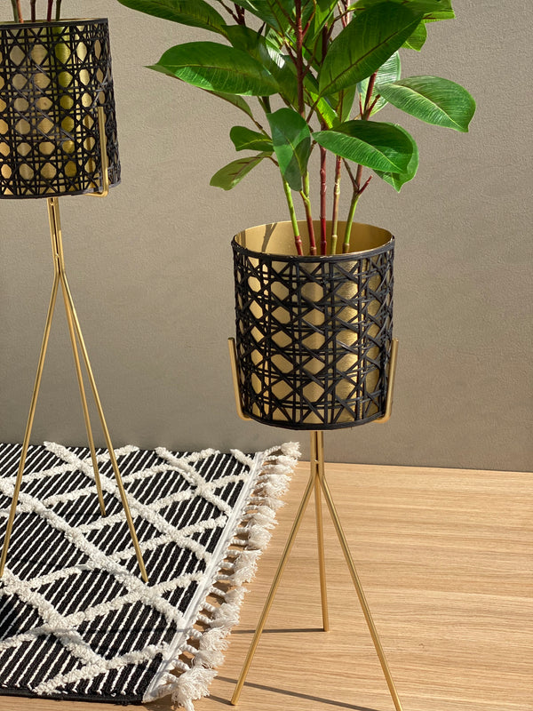 PORTEE DOREE PLANTER - GOLD - Mason Home by Amarsons - Lifestyle & Decor
