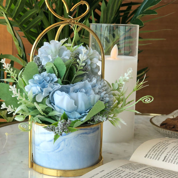 PARIS FLEUR BUNCH - SKY BLUE - Mason Home by Amarsons - Lifestyle & Decor