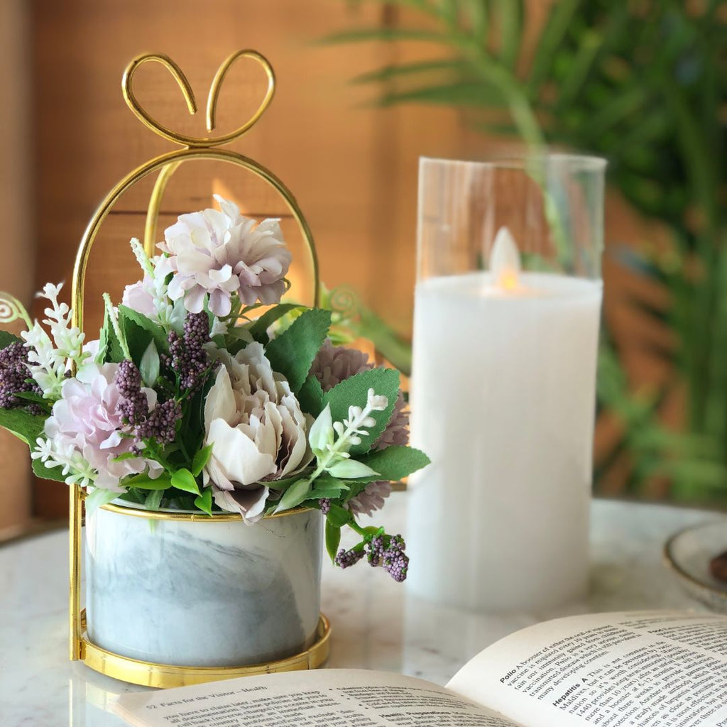 PARIS FLEUR BUNCH SMALL - LILAC - Mason Home by Amarsons - Lifestyle & Decor