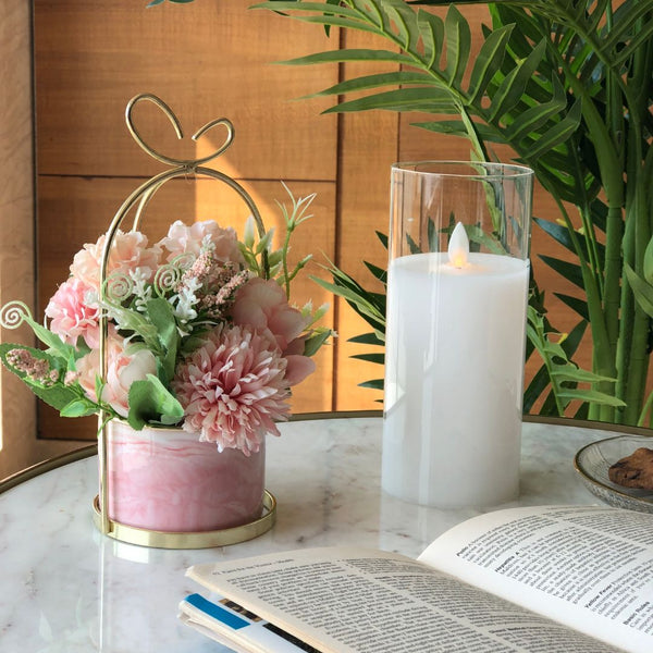 PARIS FLEUR BUNCH - PASTEL PINK - Mason Home by Amarsons - Lifestyle & Decor