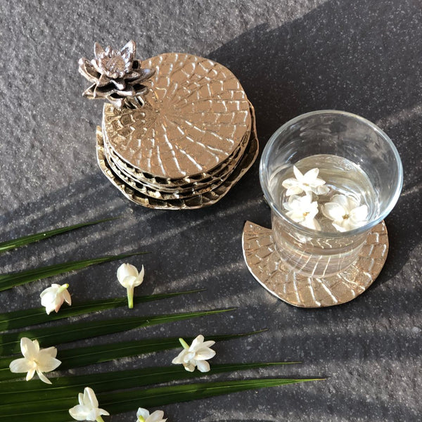 LOTUS COASTERS - Mason Home by Amarsons - Lifestyle & Decor